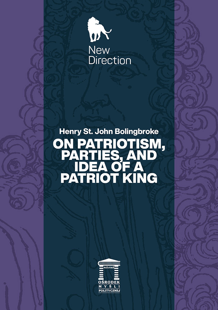 On Patriotism, Parties, and Idea of a Patriot King