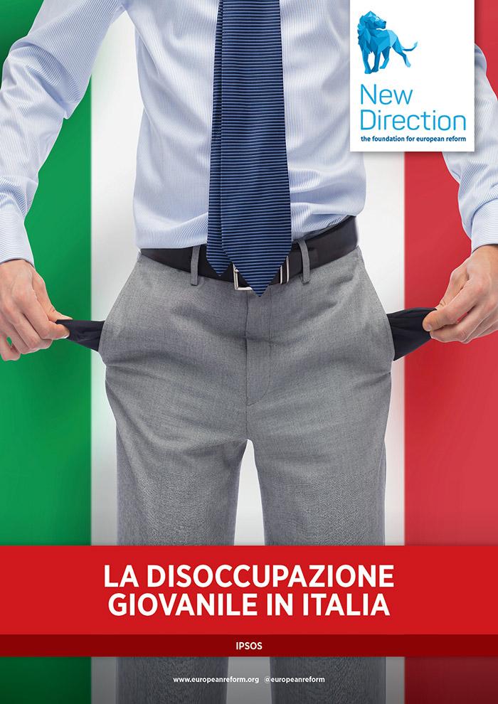 La disoccupazione giovanile in Italia