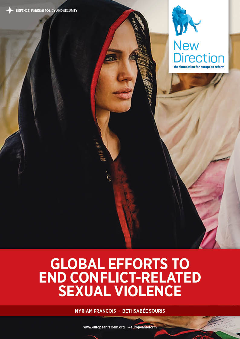 Global efforts to end conflict-related sexual violence