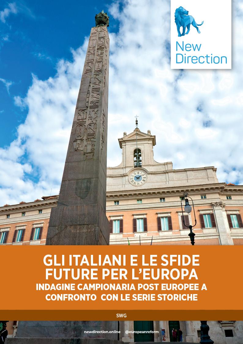 Gli italiani e le sfide  future per l'Europa