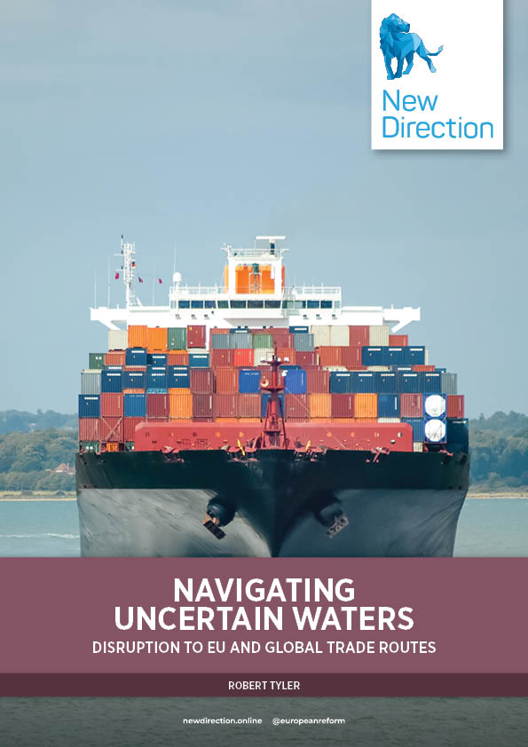 Navigating uncertain waters: Disruption to EU and global trade routes