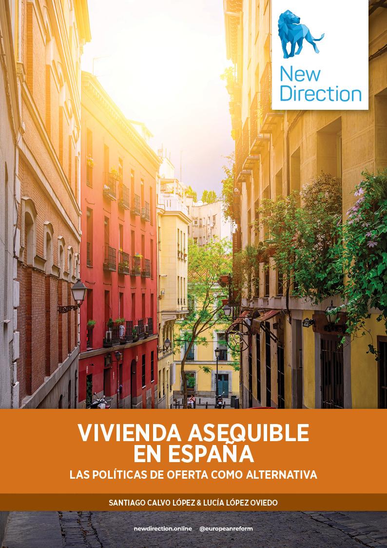 Vivienda asequible en España - Las políticas de oferta como alternativa