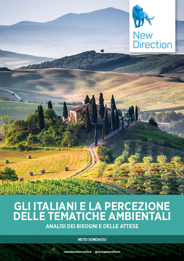 GLI ITALIANI E LA PERCEZIONE DELLE TEMATICHE AMBIENTALI - ANALISI DEI BISOGNI E DELLE ATTESE