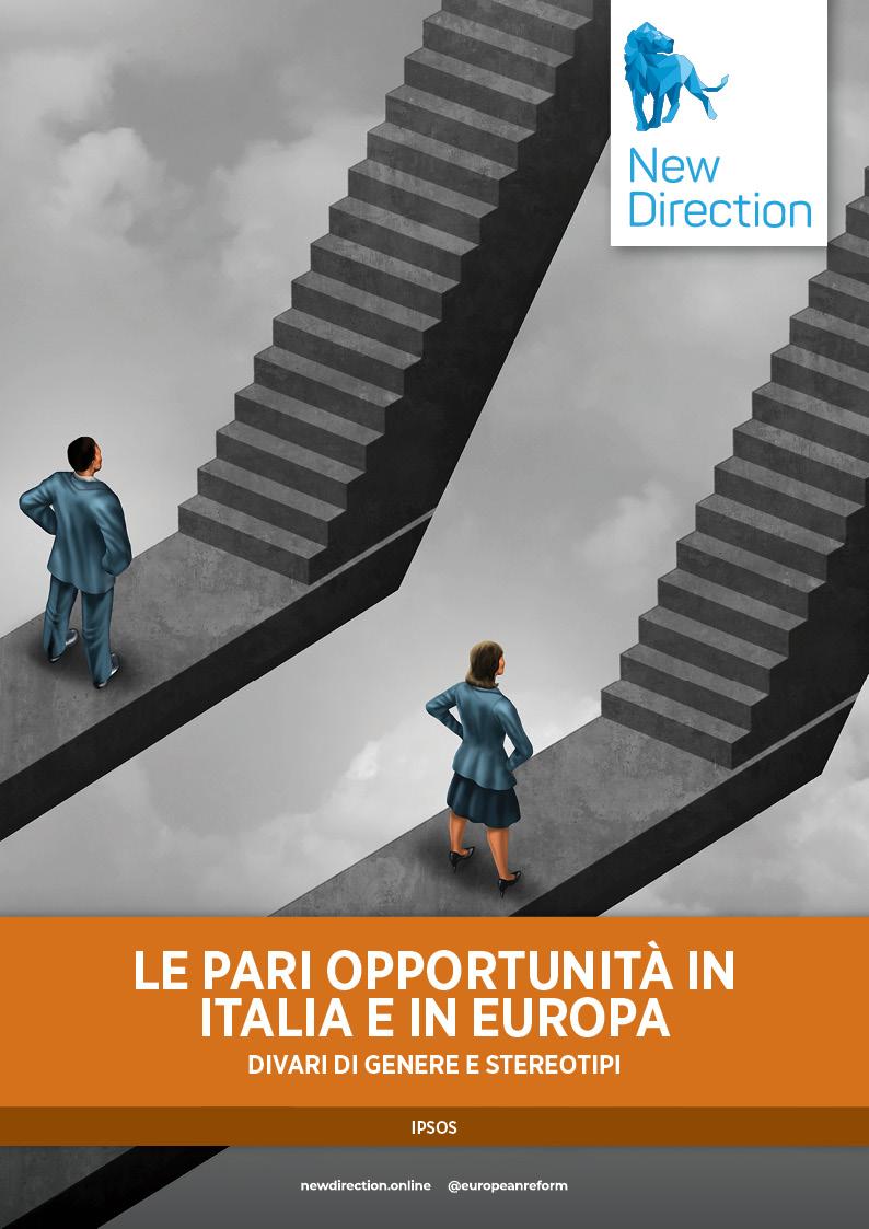LE PARI OPPORTUNITà IN ITALIA E IN EUROPA - DIVARI DI GENERE E STEREOTIPI