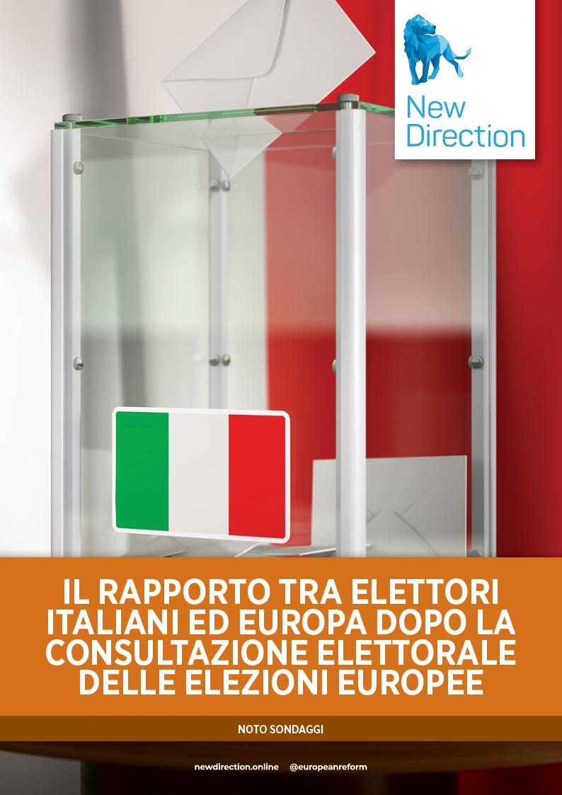 IL RAPPORTO TRA ELETTORI ITALIANI ED EUROPA DOPO LA CONSULTAZIONE ELETTORALE DELLE ELEZIONI EUROPEE
