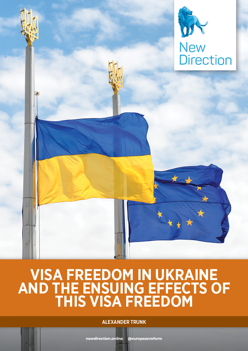 Visa freedom in Ukraine and the ensuing effects of this visa freedom